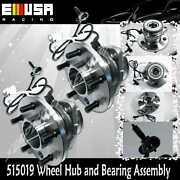 2 Pcs Front Wheel Hub Bearing Assembly For 95-02 Chevy Astro Awd 538-01356r