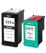 Non-oem Replaces Use In For Hp 339 And 344 Ink Cartridges