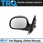 Trq Folding Power Gloss Black Mirror Lh For Ford Expedition Pickup Truck F150