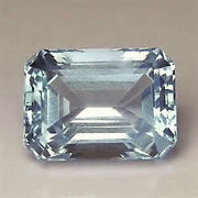 Masterpiece Collection Octagon Faceted Aaa Natural Sky Blue Topaz 6x4-20x15mm