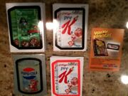 Wacky Packages Ans7 Mega Set Includes Base And Inserts