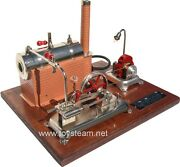 Jensen Model 25g Live Steam Engine - Free Shipping To Lower 48 Usa