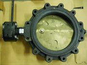 Grinnell Series 1000 12 Butterfly Valve With 301 Gear Option New No Box