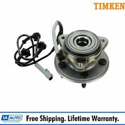 Timken Front Wheel Hub And Bearing For Ford Explorer 4x4 4wd