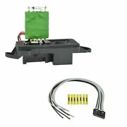 Front Heater Blower Motor Resistor W/ Plug And Pigtail For Chevy Gmc Pickup Truck