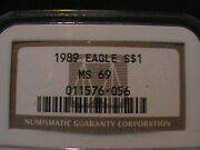 1989 American Eagle 1 Silver Ngc Ms 69