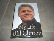 President Bill Clinton My Life Signed Autographed Book Psa Certified