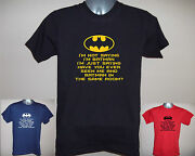 I'm Not Saying I'm Batman, But Ever Seen Us In Same Room Funny T-shirt S - 5xl