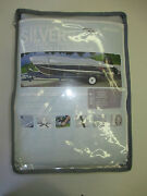 New Attwood Snug Harbor Silver Boat Cover 17-19 V-hull Runabouts 96 Beam