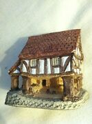 David Winter Cottage Little Market 1980. Retired And Rare