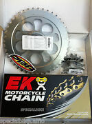 Ducati Monster 1100 2009 2010 Pbr Ek Chain And Sprockets Kit 525 Pitch Xring