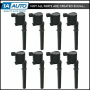 Motorcraft Ignition Coils Kit Set Of 8 For Ford Lincoln Mercury 4.6l 5.4l V8 New