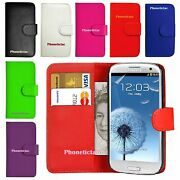 Flip Leather Wallet Case Cover For Samsung Galaxy S3 4 5 6 7 Mini Note 2 3 J1