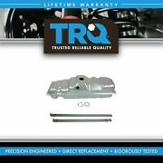 Trq Gas Fuel Tank 25 Gallon W/ Strap Kit Set For Chevy Gmc C/k Pickup 8 Bed New