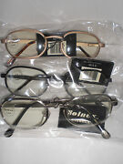 Solnex Eyewear Uv Sun Protection Vision Care Clear Thin Safety Glasses Lot Of 24