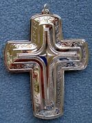 Towle 2013 21st Annual Sterling Silver Cross Christmas Ornament New In Box