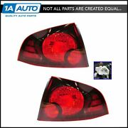 Taillights Taillamps Brake Lights Left And Right Pair Set For 04-06 Sentra Se-r
