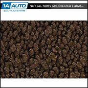 For 70 Corvette With Padding 80/20 Loop 10-dark Brown Complete Carpet Molded