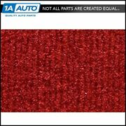 For 1987-95 Jeep Wrangler Cutpile 8801-flame Red Cargo Area Carpet Molded