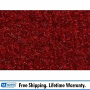 For 1978-83 Ford Fairmont 4 Door Cutpile 815-red Complete Carpet Molded