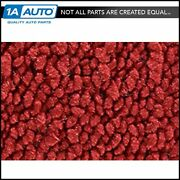 For 57 Starfire 98 2 Door Hardtop Cut And Sewn 80/20 Loop 02-red Complete Carpet