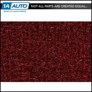For 1981-89 Plymouth Reliant 4 Door Cutpile 825-maroon Complete Carpet Molded
