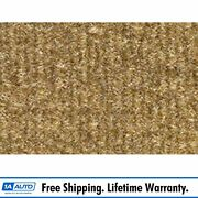 For 1975-80 Chevy K20 Truck Crew Cab Cutpile 854-caramel Complete Carpet Molded