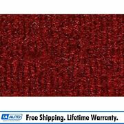 For 1981-89 Plymouth Reliant 2 Door Cutpile 4305-oxblood Complete Carpet Molded
