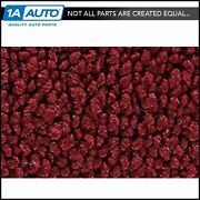 For 58 Ranchero With Power Seats 80/20 Loop 13-maroon Complete Carpet Molded