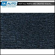 For 76-84 Chevy Chevette Scooter 2 Door Cutpile 7625-blue Complete Carpet Molded