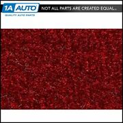 For 1983-93 Ford Mustang Convertible Cutpile 815-red Complete Carpet Molded