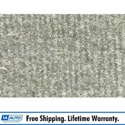 For 1975-80 Chevy K20 Truck Crew Cab Cutpile 852-silver Complete Carpet Molded