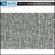 For 1981-86 Chevy K20 Truck Crew Cab Cutpile 8046-silver Complete Carpet Molded