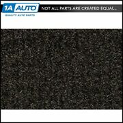 For 1981-86 Chevy K20 Truck Crew Cab Cutpile 897-charcoal Complete Carpet Molded