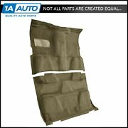 For 1981-86 Chevy K20 Truck Crew Cab Cutpile 1251-almond Complete Carpet Molded