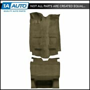 For 82-84 Camaro Without Console Cutpile 1251-almond Complete Carpet Molded