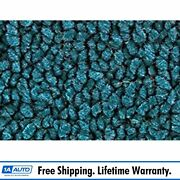 For 1955 Chevy Nomad With Bucket Seats 80/20 Loop 17-bright Blue Complete Carpet