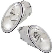 Headlight Set For 98-2005 Volkswagen Beetle Left And Right With Bulb 2pc