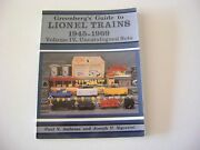 Greenbergand039s Guide To Lionel Trains 1945-1969 Vol. Iv Uncatalogued Sets