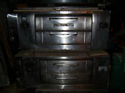 Reconditioned Bakerand039s Pride 452 Double Stack 4 Pie Pizza Oven