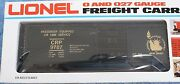 1977 Lionel 6-9787 Jersey Central Box Car Brand New Never Out Of The Box
