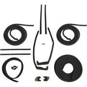 1957 Buick Roadmaster And Super 2dr Hardtop Body Weatherstrip Seal Kit