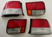 Rr1277 96-00 Honda Civic Coupe Original Center And Corner Tail Lights R And L Side