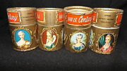 Vintage Four 18th Century Beauties Matches Made In Italy Full