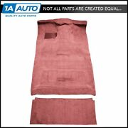 For 87-97 Ford F350 Crew Cab 2wd Diesel High Tunnel Complete Carpet 4305-oxblood