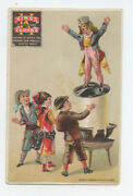King's Flour Uncle Sam Trade Card