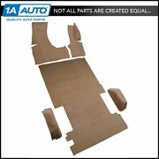 83-95 Chevy Van G20 Extended Body 127 Wb Complete Carpet 7039-dk Red/carmine