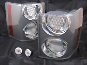 Genuine Range Rover Supercharged Clear Rear Tail And Side Marker Lights Set New