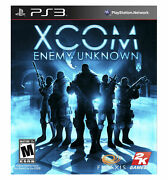 Xcom Enemy Unknown Sony Playstation 3 2012 Ps3 Mature Video Game Brand New