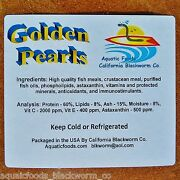 Golden Pearls 1/2-lb Fry Corals Reef Tanks Betta Discus Cichlid Baby Food